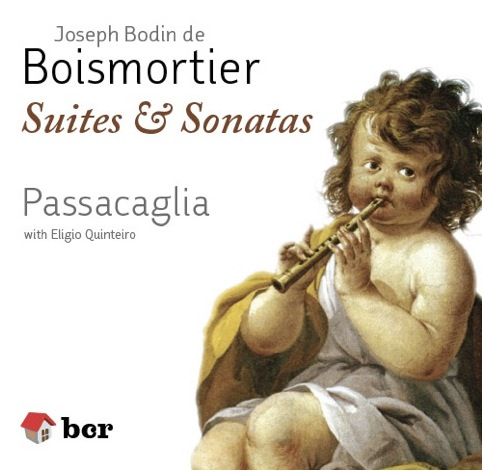 Boismortier CD cover