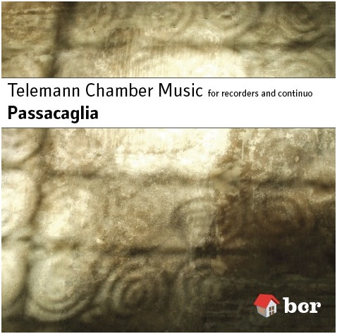 Telemann CD cover