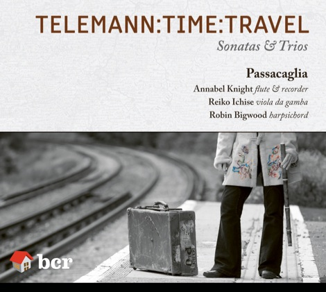 Telemann Time Travel CD cover
