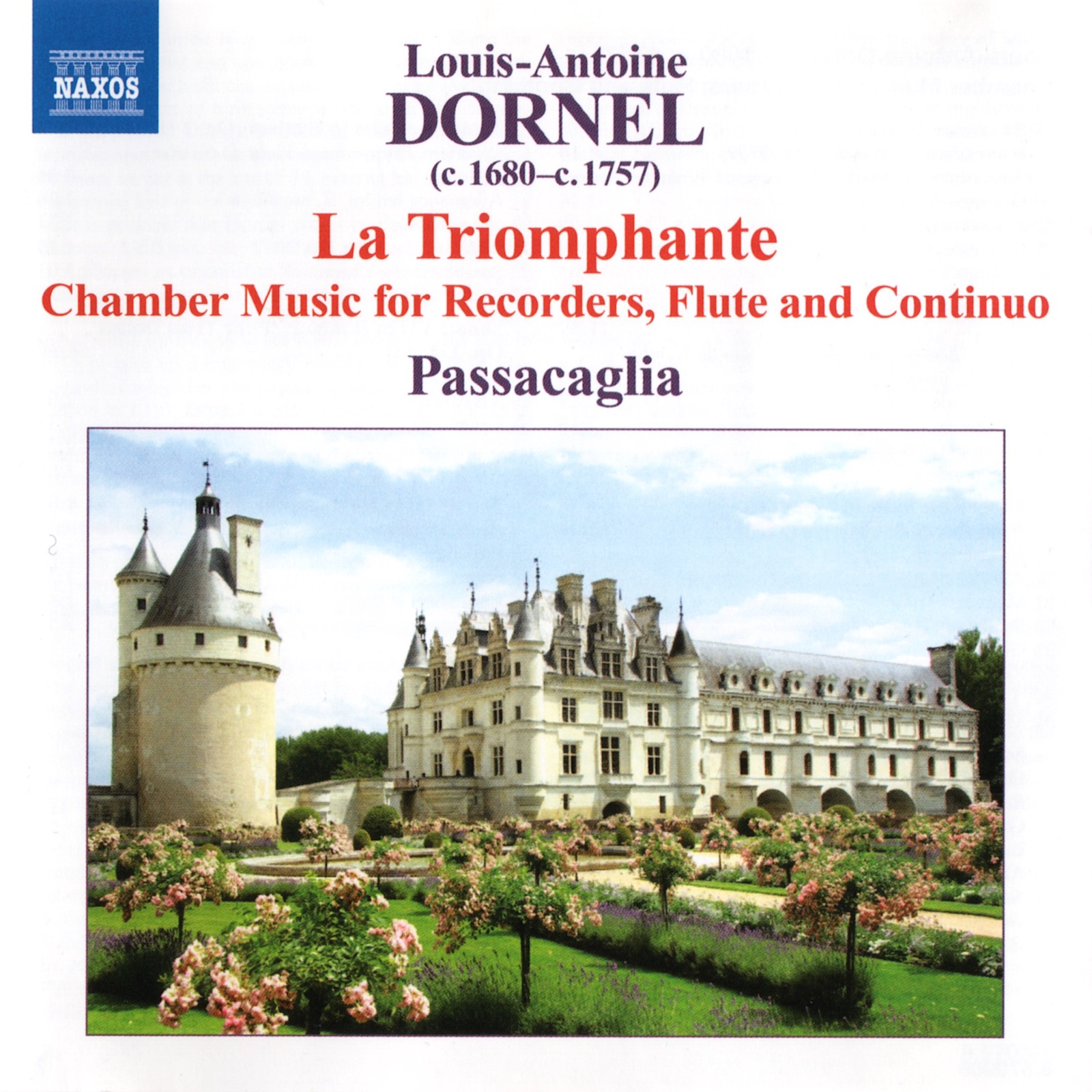 CD cover image of Dornel La Triomphante
