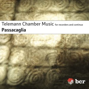 CD cover of Telemann Chamber Music