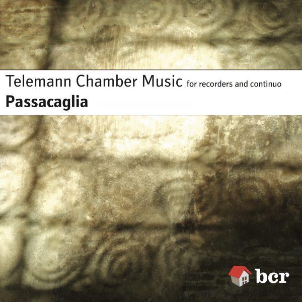 CD cover of Telemann Chamber Music